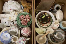 Quantity of assorted ceramics