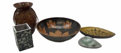 Group of Studio pottery