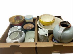 Group of assorted ceramics