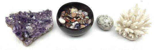 Various polished rocks/minerals