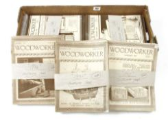Woodworker magazines from 1935-41 complete G+
