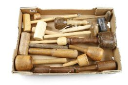 15 various mallets G+
