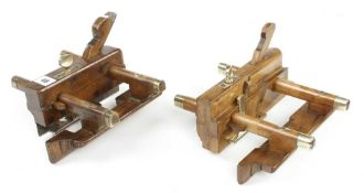 A plough plane by MADDOX and a sash fillester with quadruple boxing by MALLOCH G