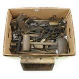 Quantity of sand moulder's tools G