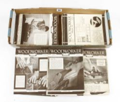 80 issues of the Woodworker magazine all from 1940s G