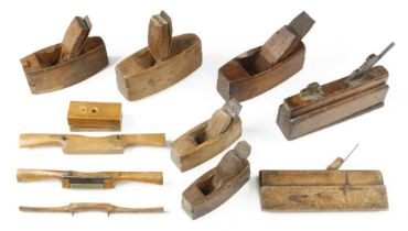 A toothing plane, compass plane and seven others G+