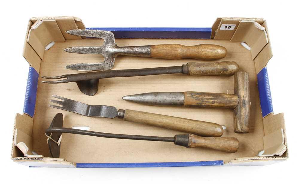 Five garden tools G+ - Image 2 of 2