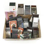 Quantity of pocket calculators G