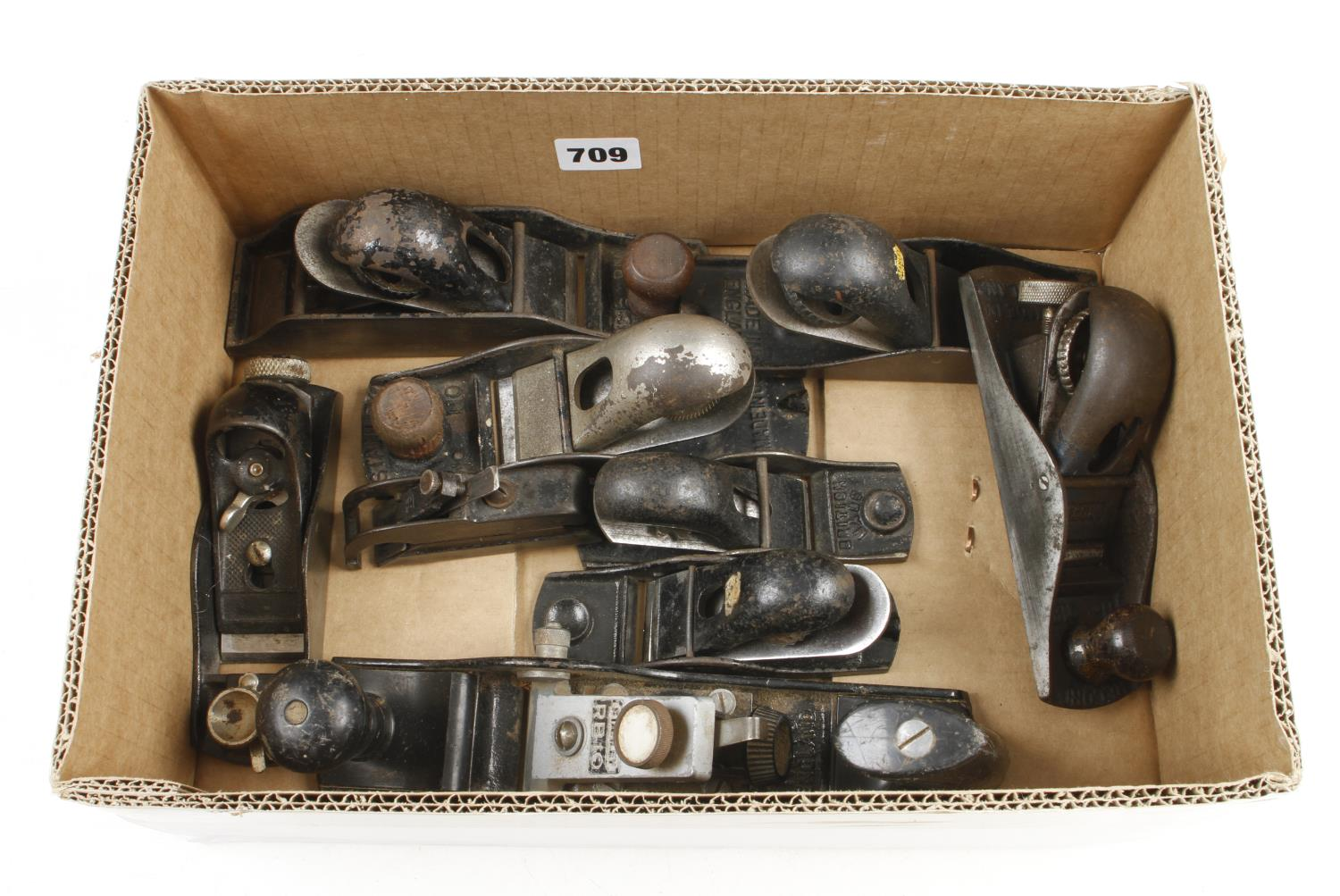 Eight STANLEY block planes G - Image 2 of 2