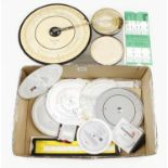Two card circular slide rules and various other slide rules G