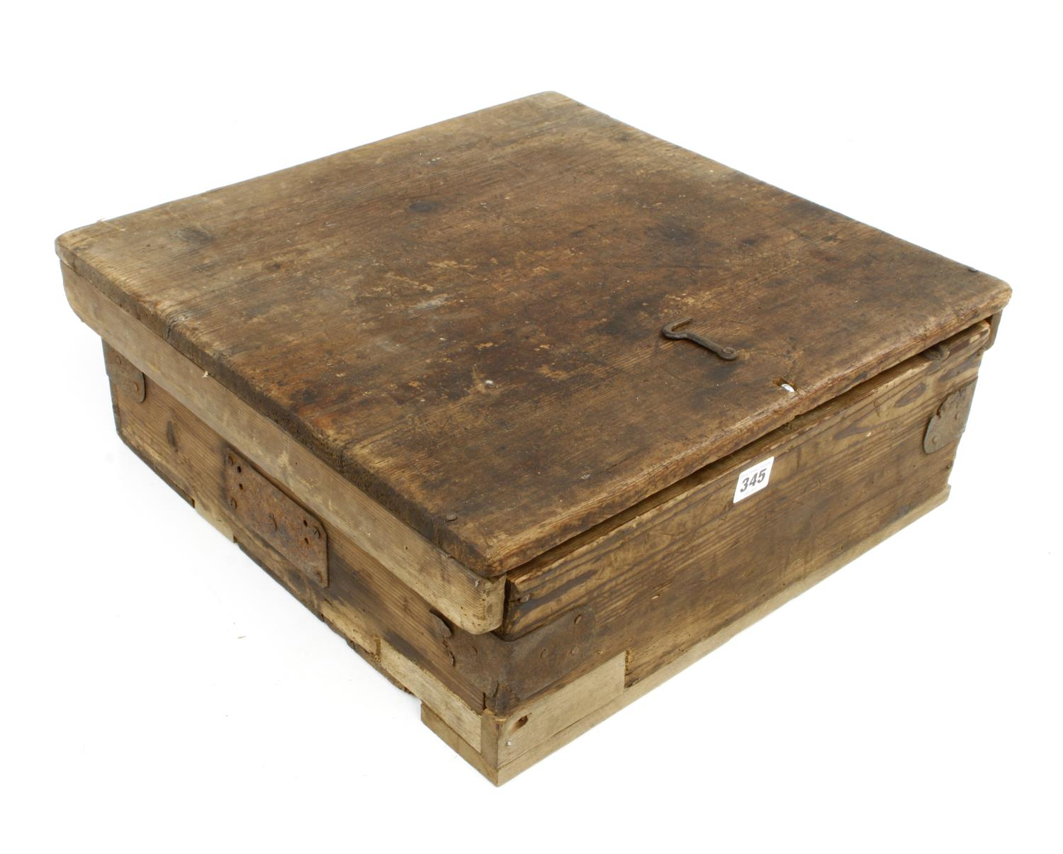 Two sets of lawn bowls in pine box with orig rules the makers label with FELTHAM & Co inside the lid - Image 3 of 3