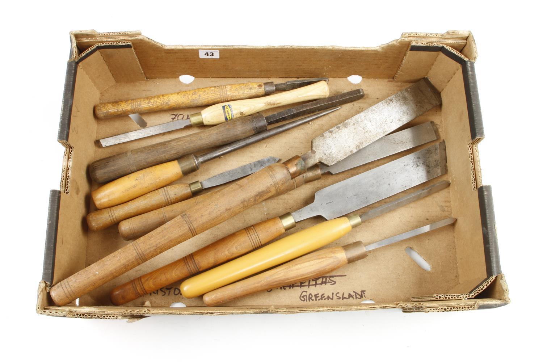 Nine turning tools G+