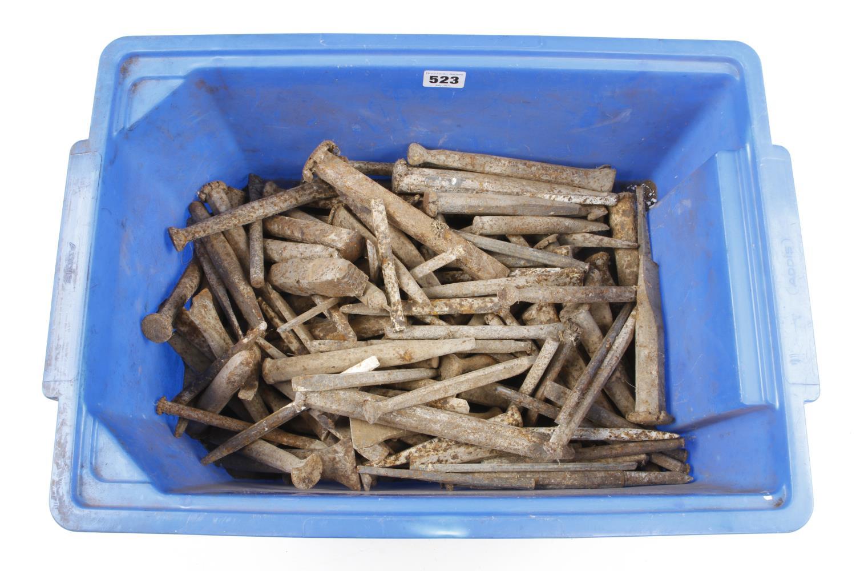 A quantity of stonemasons chisels rusty G-
