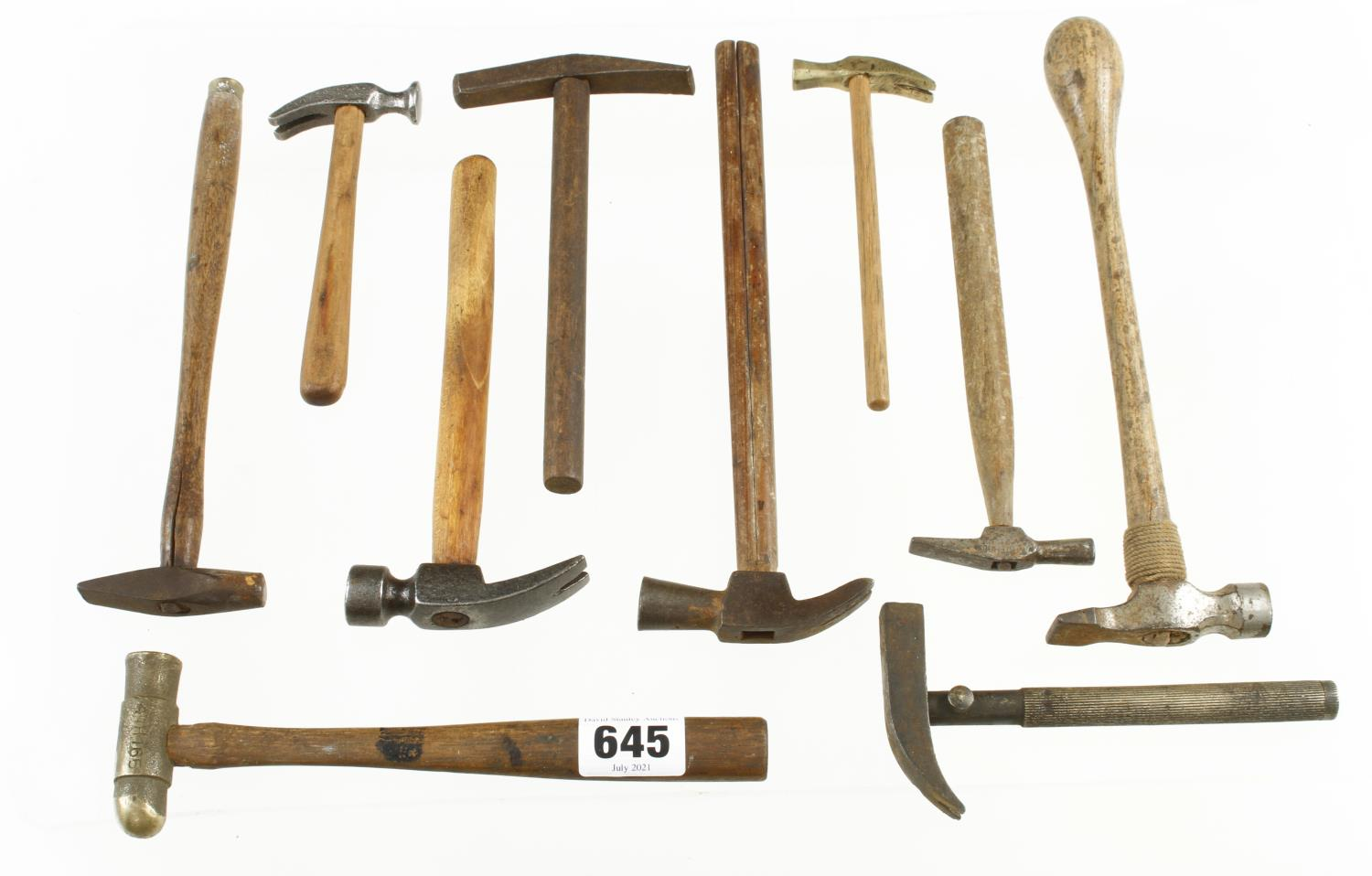 Seven small hammers G - Image 2 of 2