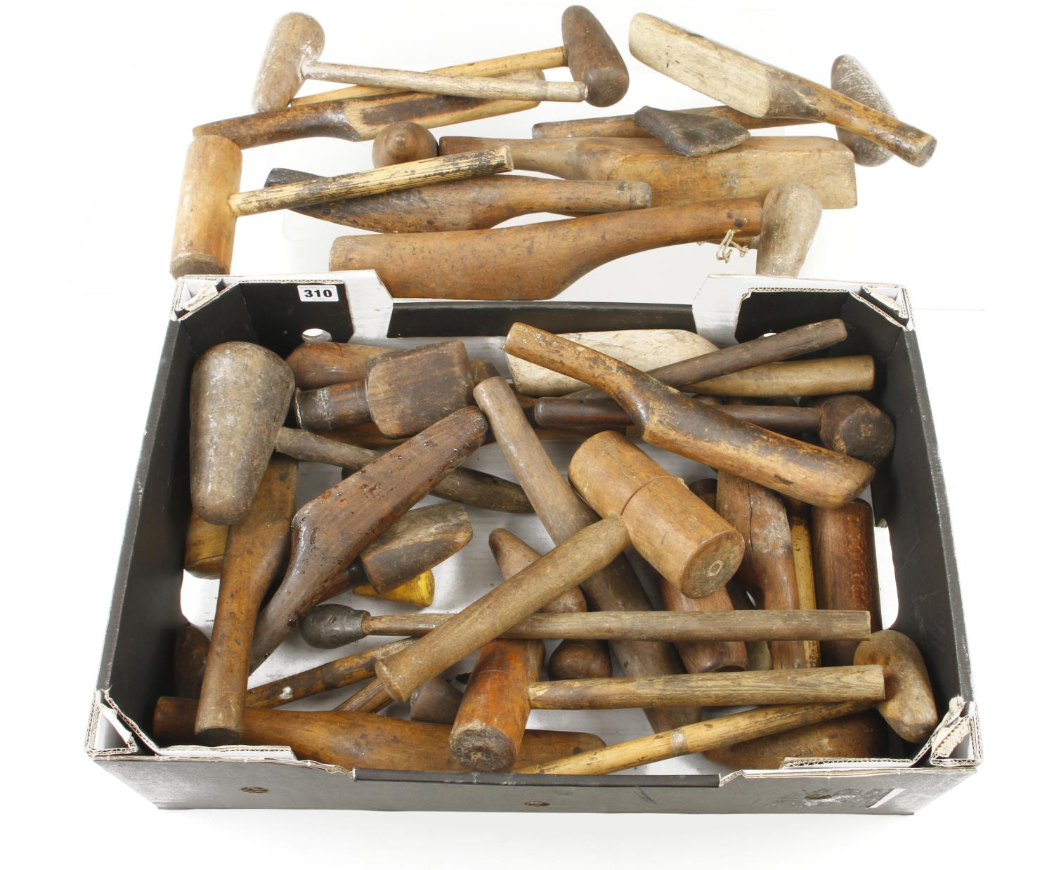 A box of plumber's tools G