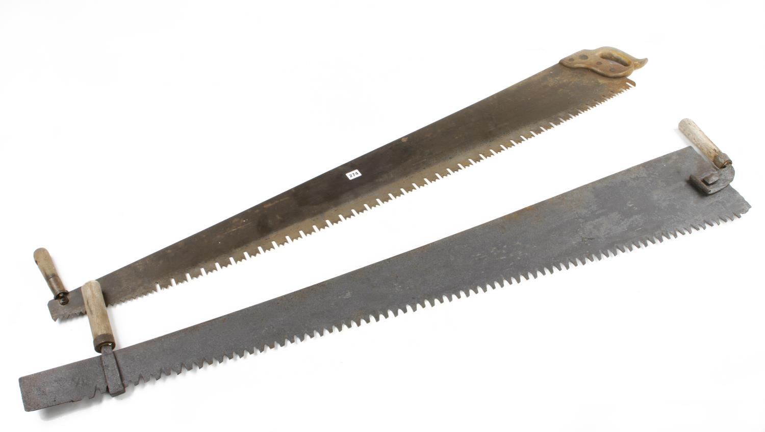 """Two 60"""" two man saws G"""