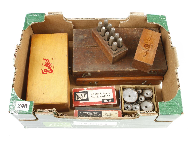 Engineers dial gauge, number stamps etc G - Image 2 of 2