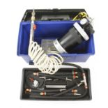 A PROTEC pressurised valve, carburettor and injection cleaning device G