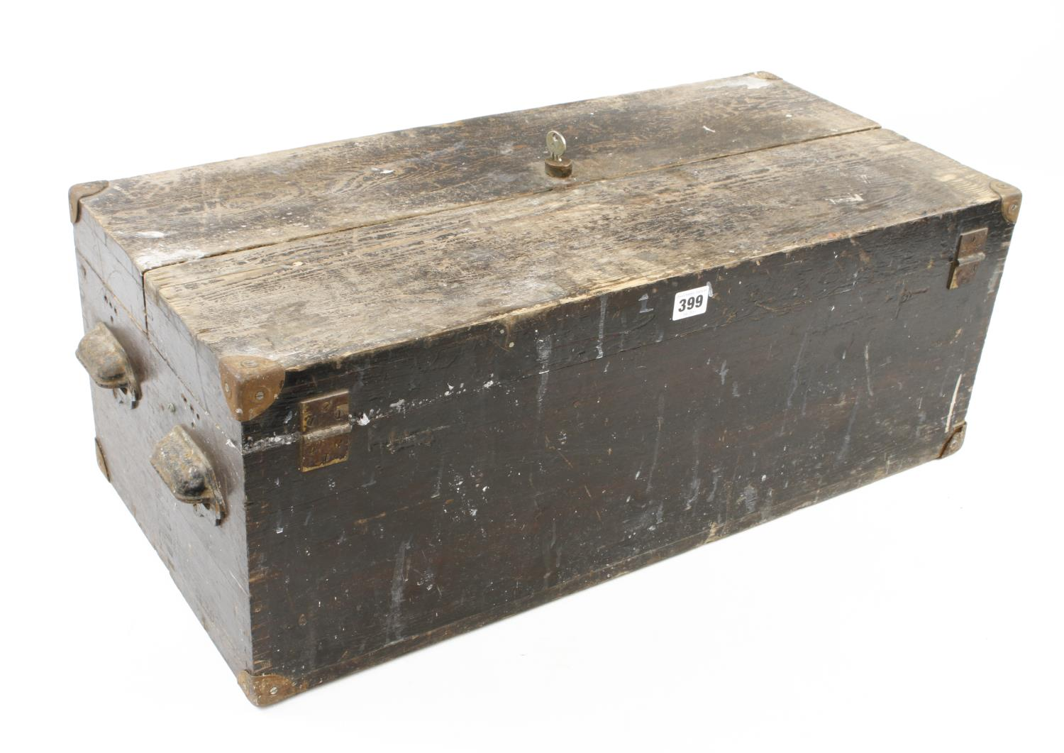 Two old tool boxes G - Image 4 of 4
