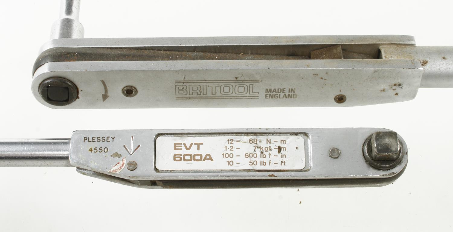 Two engineer's torque wrenches by BRITOOL G+ - Image 2 of 2