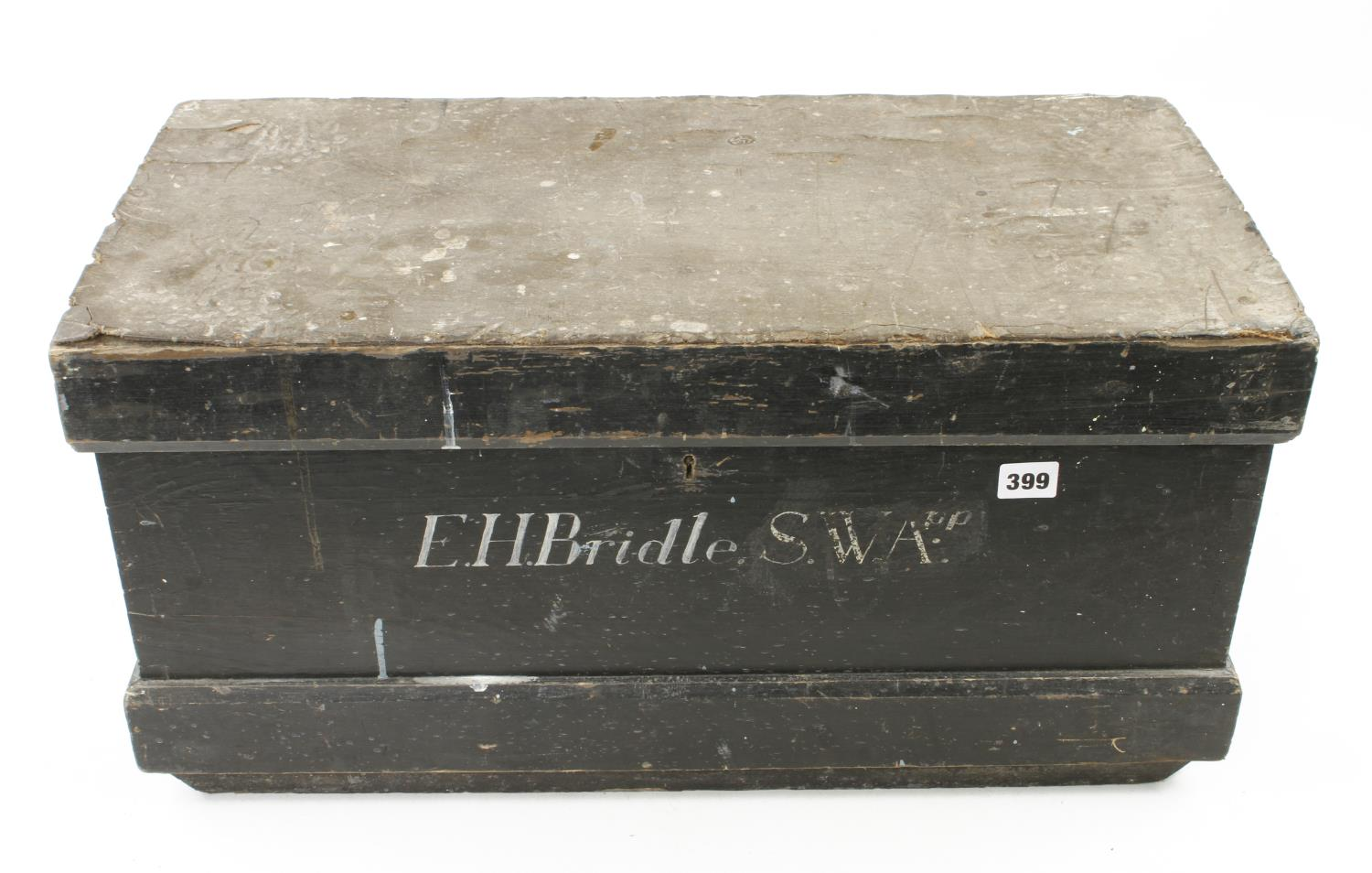 Two old tool boxes G - Image 2 of 4