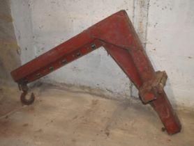 A Lancing Bagnall forklift machinery moving jib