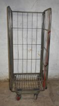 A steel roll cage