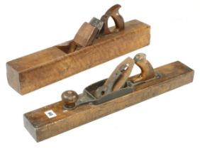 """A STANLEY No 31 jointer for restoration and a 24"""" PRESTON jointer G"""