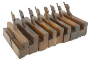 A pair of sash planes, pair of No 18 H & R's and 4 others by GLEAVE G+