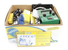 A TORMEK 2000 super grind kit with numerous guides, jigs, attachments and accessories, very little