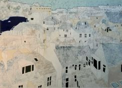 Jason John Roy LILLEY (1966) We Lived in White Houses Acrylic watercolour and pencil Signed and