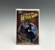 Marvel Collectible Classics, The Amazing Spider-man 300, foiled metal cover, 25.5 X 17cm.