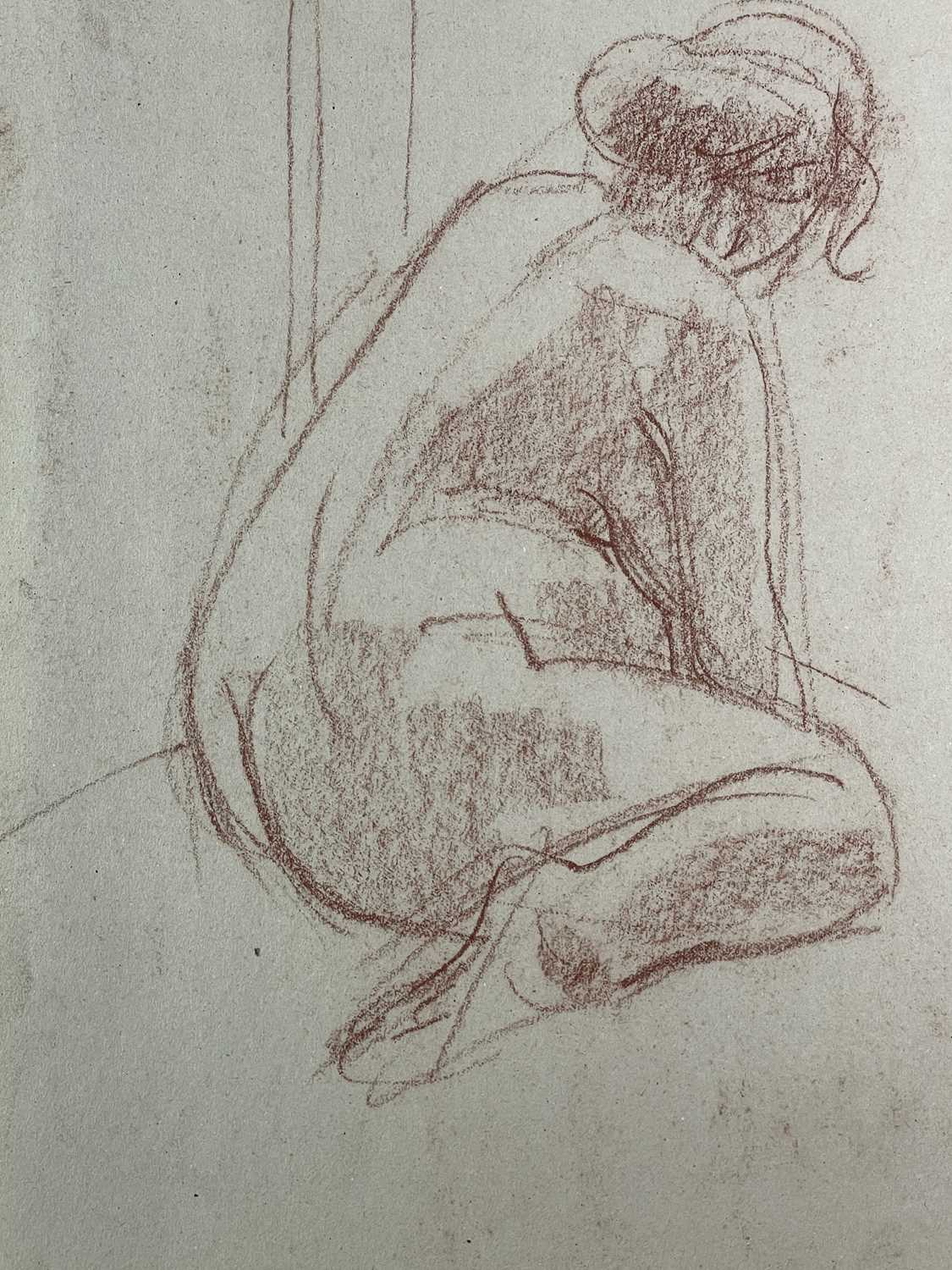 Alec WILES (1924) Nude drawings A collection of twenty Mostly signed Mostly 63x42 - Image 14 of 17