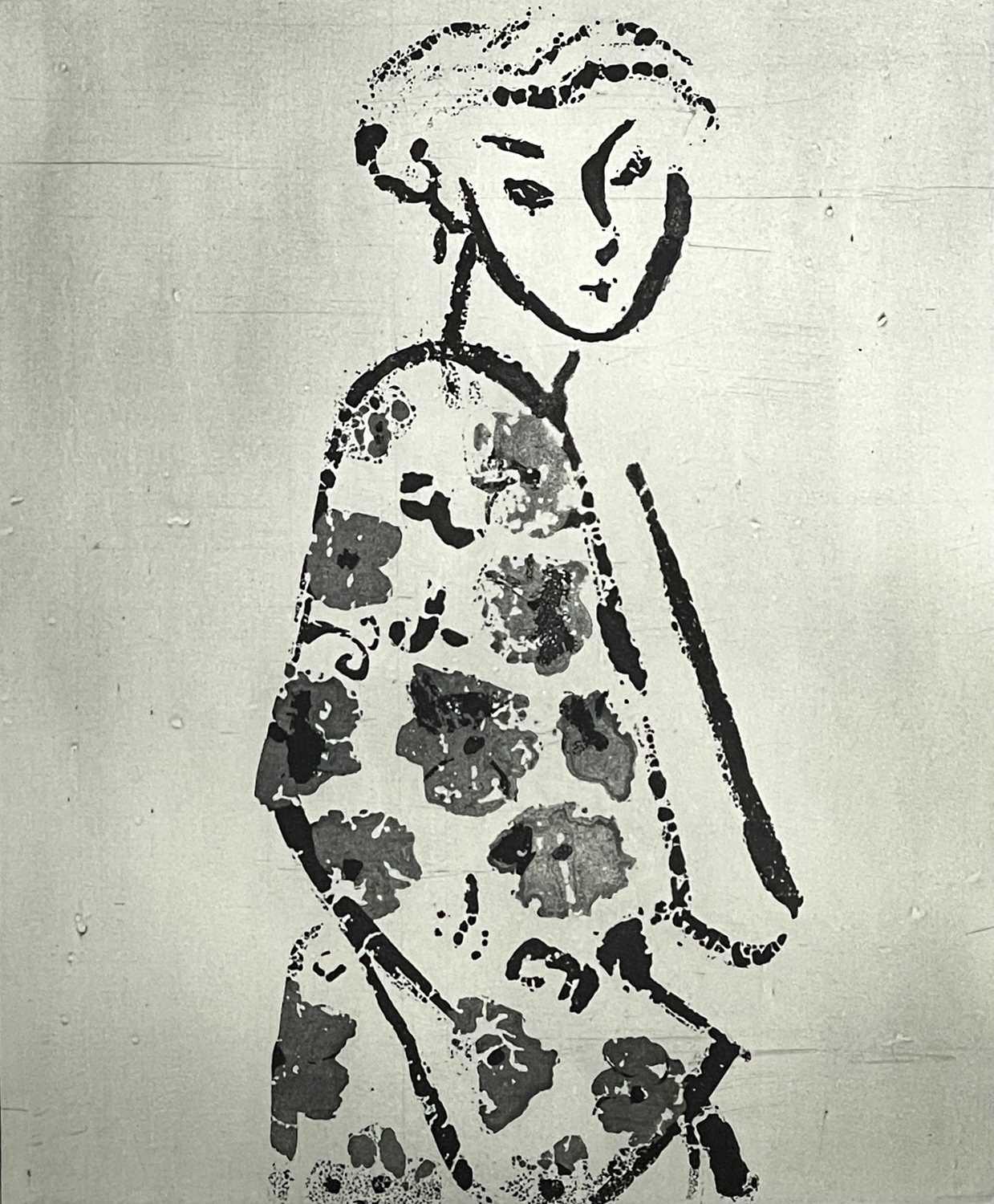 Rose HILTON (1931-2019)CourtesanEtching Signed, inscribed and numbered 1/10Further signed, inscribed