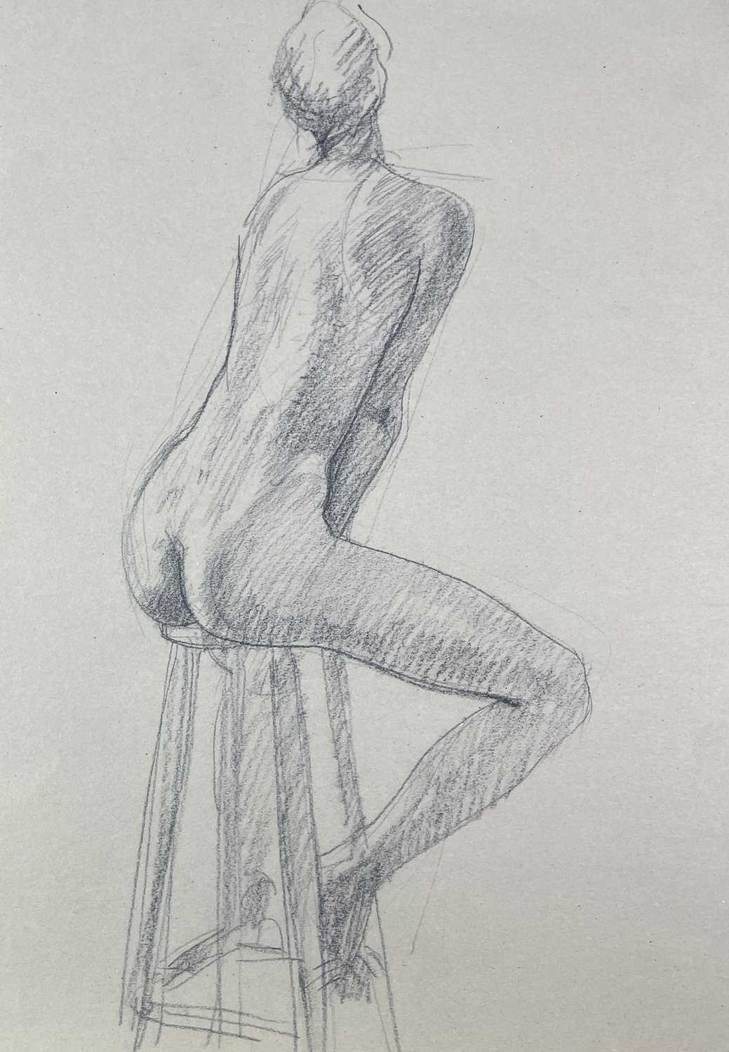 Alec WILES (1924) Nude drawings A collection of twenty Mostly signed Mostly 60x42 - Image 12 of 20