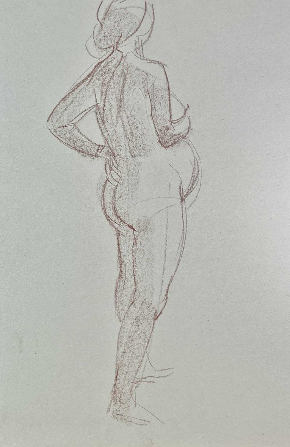 Alec WILES (1924) Nude drawings A collection of twenty Mostly signed Mostly 60x42 - Image 4 of 20