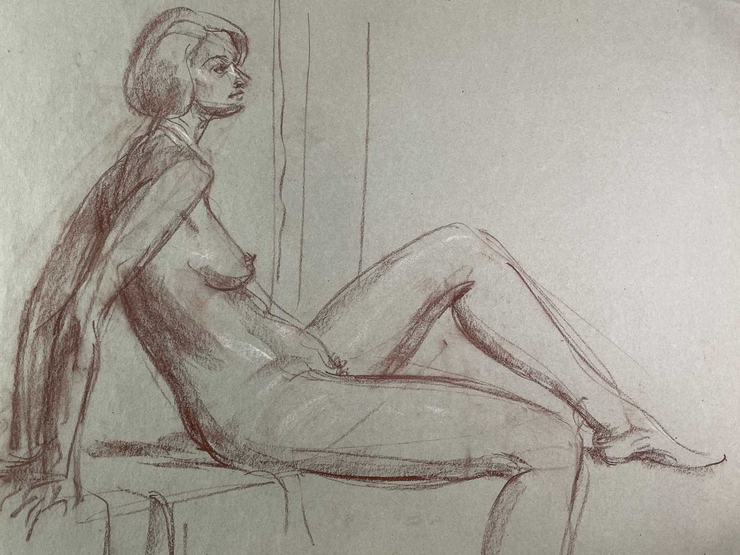 Alec WILES (1924) Nude drawings A collection of twenty Mostly signed Mostly 60x42 - Image 6 of 20