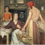 Nora Lucy Mowbray CUNDELL (1889-1948)The KitchenOil on canvas Signed and dated '25Inscribed label to