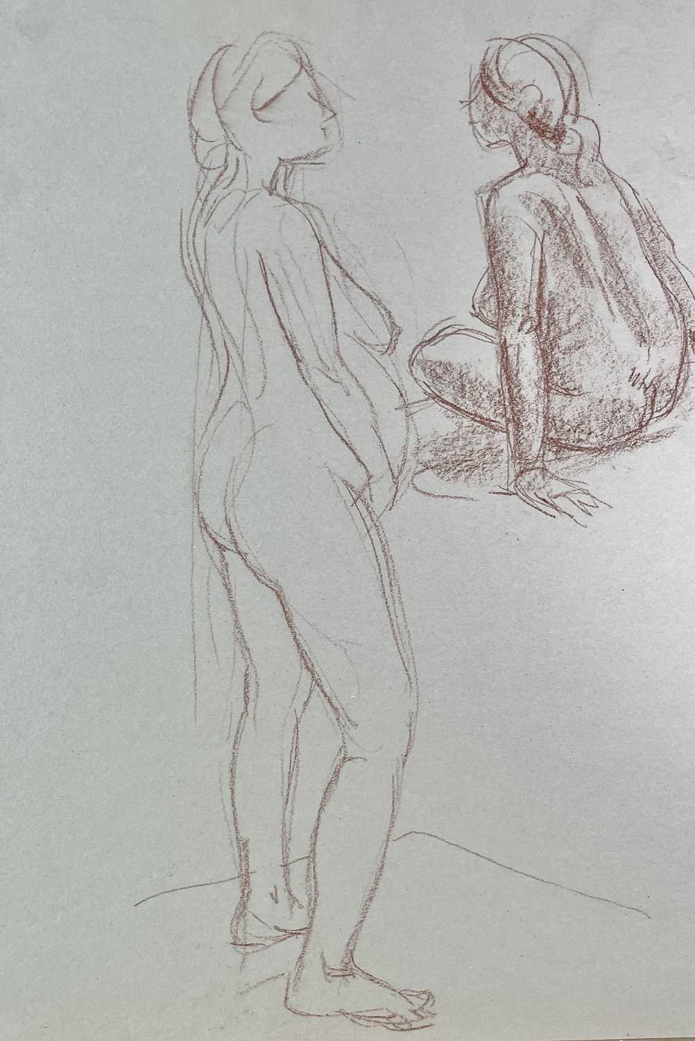 Alec WILES (1924) Nude drawings A collection of twenty Mostly signed Mostly 60x42 - Image 19 of 20
