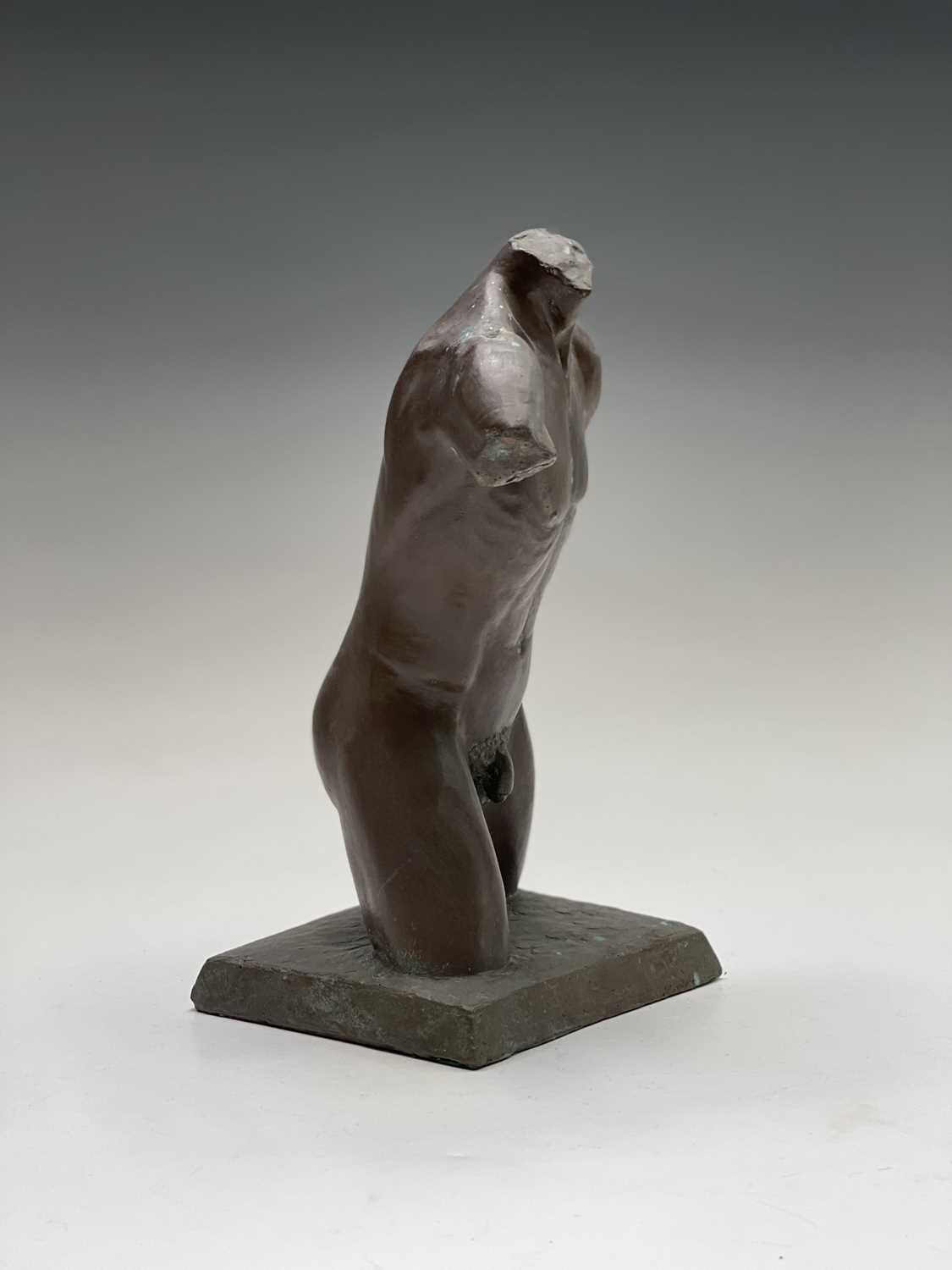 Alec WILES (1924)Males Torso Bronzed resin sculpture Signed and dated 1995Height 27cm - Image 6 of 10
