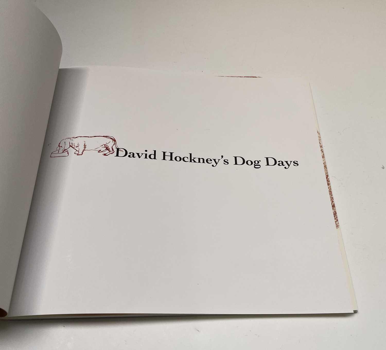Three David Hockney publications: Portrait of David Hockney, Peter Webb, first edition 1988, - Image 7 of 7