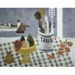 Mary FEDDEN (1915-2012)Tabac Jar Lithograph Signed and numbered 8/55023 x 29cm