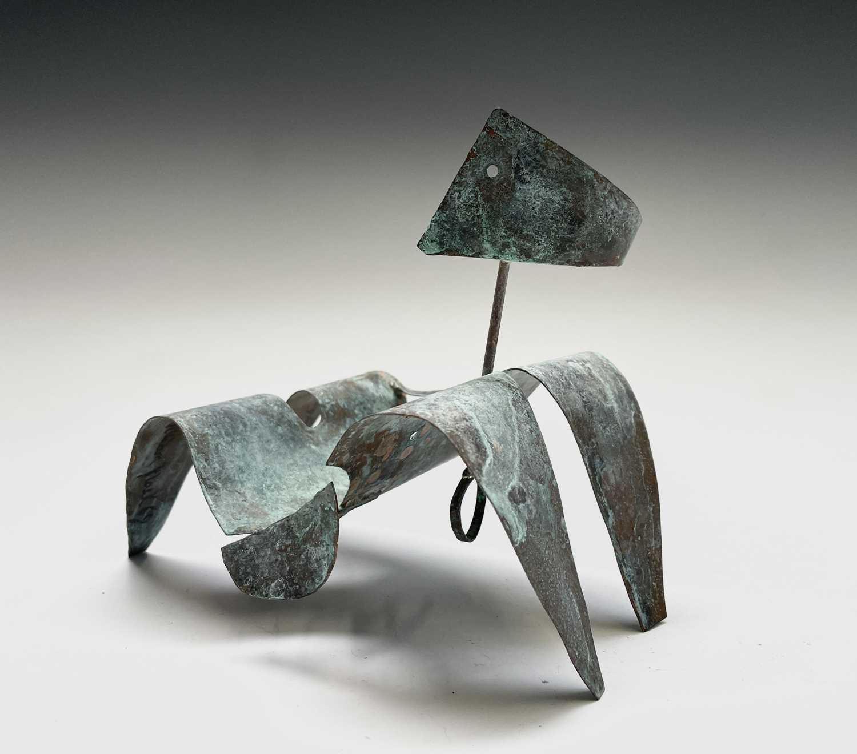 William BLACK (20th Century British)Reclining Figure I Oxidised copper sculpture Signed, inscribed - Image 3 of 8