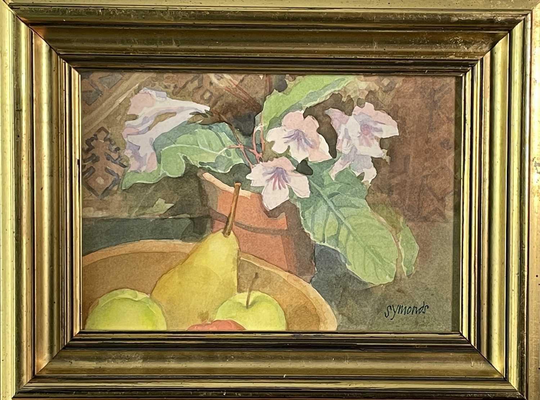 Ken SYMONDS (1927-2010)Pont d'Avignon, FranceWatercolourSigned 19 x 33cm&Still Life Watercolour - Image 7 of 7