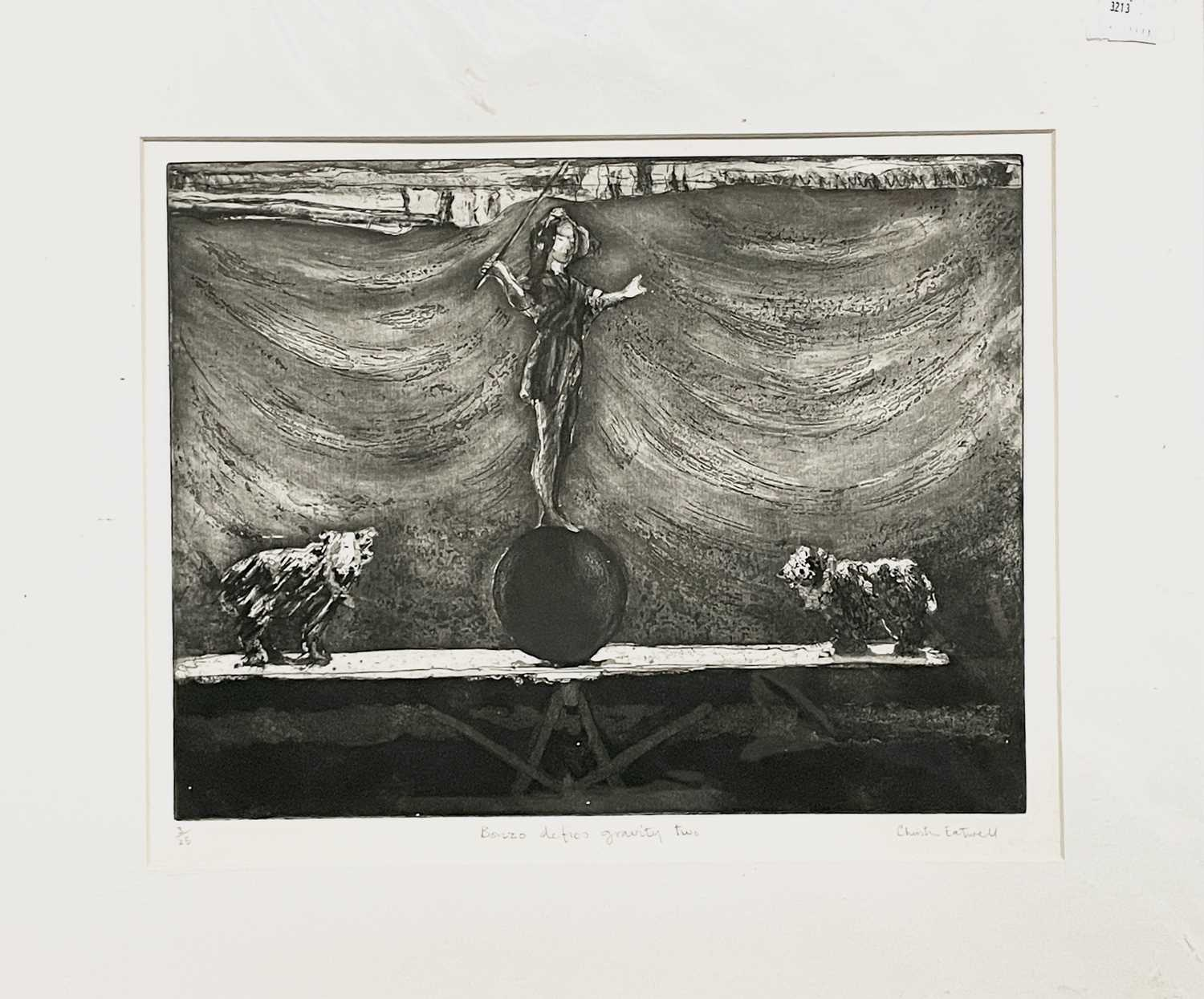HEADLEY Cornish Mystery VIColoured etching Signed and inscribed 17.5 x 18cmTogether with ' - Image 2 of 9