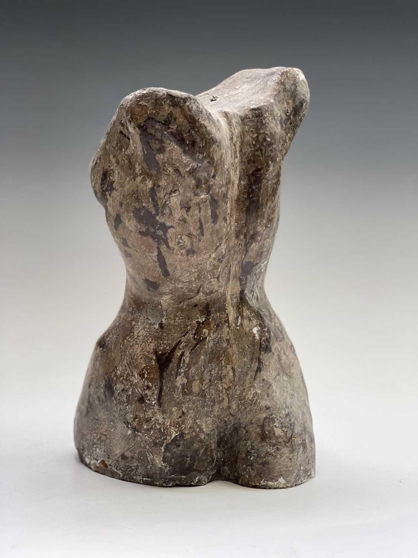 Alec WILES (1924)Female Torso Plaster sculpture Height 29cm - Image 8 of 12