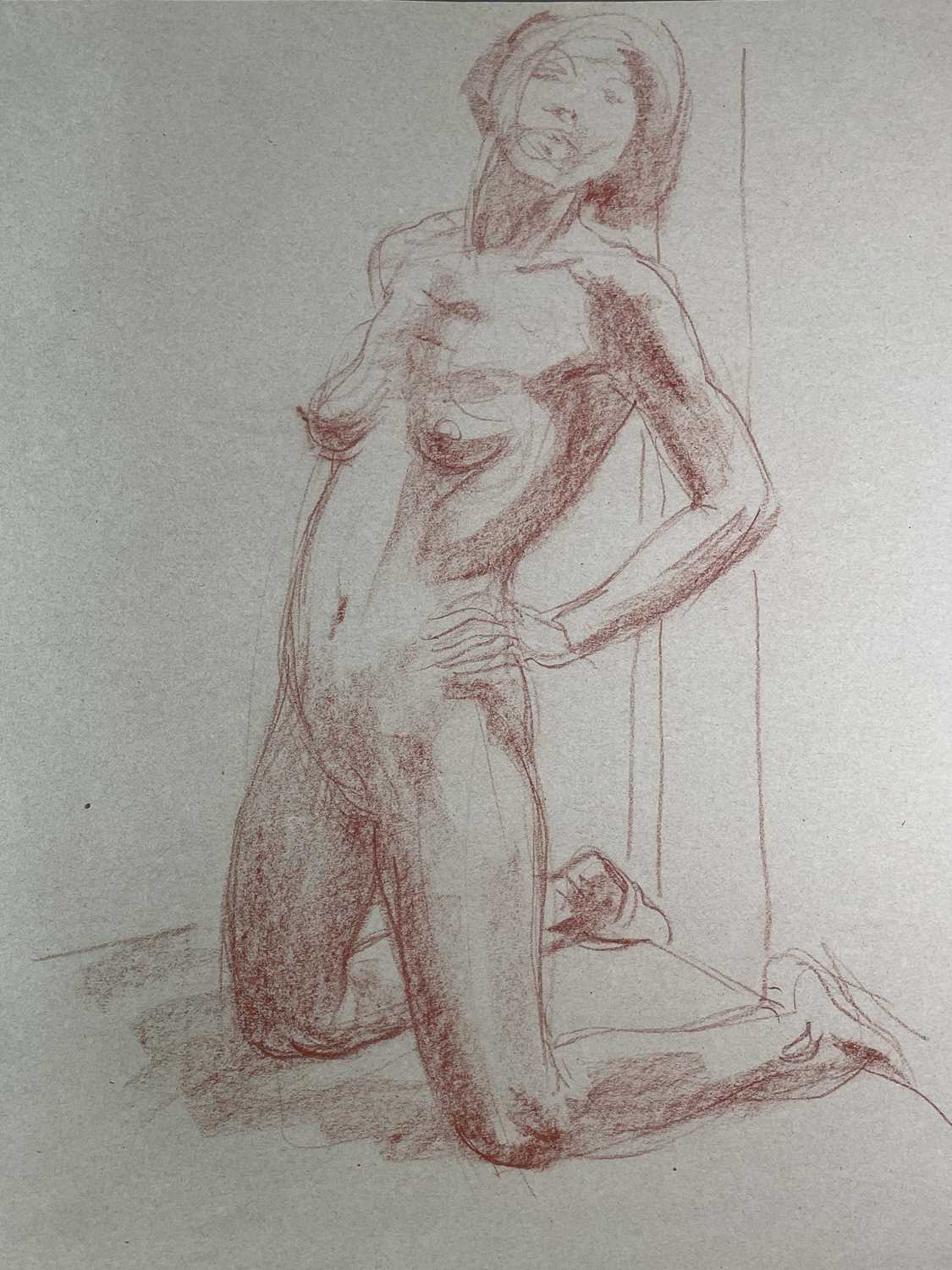 Alec WILES (1924) Nude drawings A collection of twenty Mostly signed Mostly 60x42 - Image 3 of 20