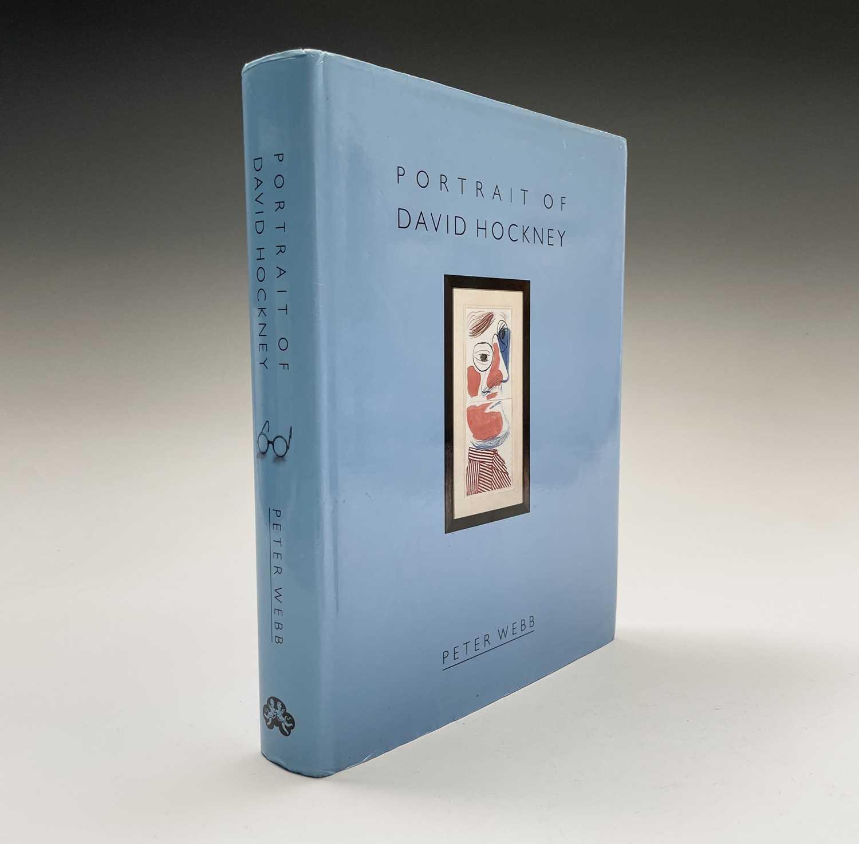 Three David Hockney publications: Portrait of David Hockney, Peter Webb, first edition 1988, - Image 5 of 7