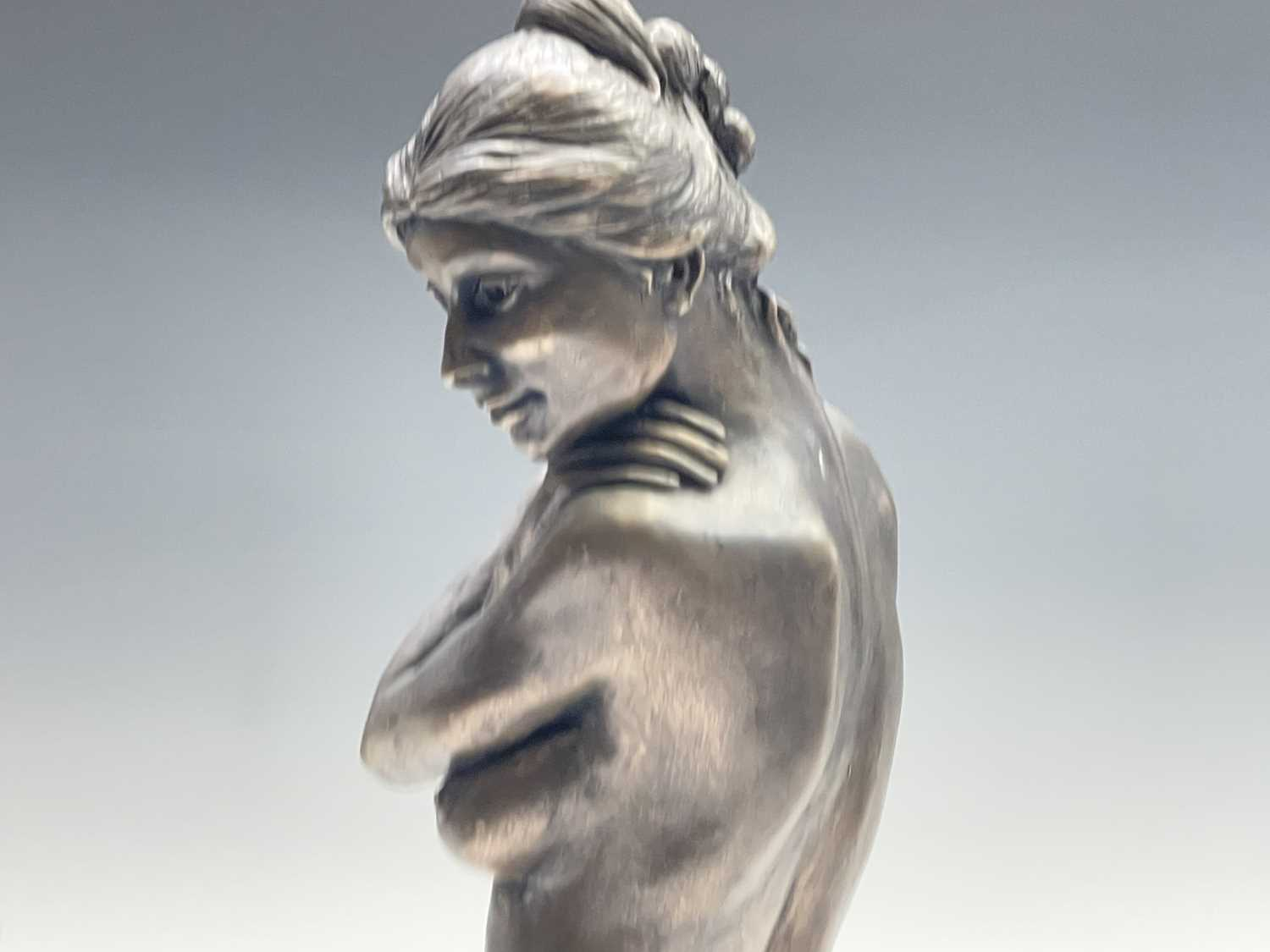 Alec WILES (1924)Female Form Bronzed resin sculpture Signed Height 36.5cm - Image 3 of 11