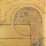 Terry WHYBROW (1932-2020)Untitled, ReliefMixed media, giltSigned and dated '76, further signed and